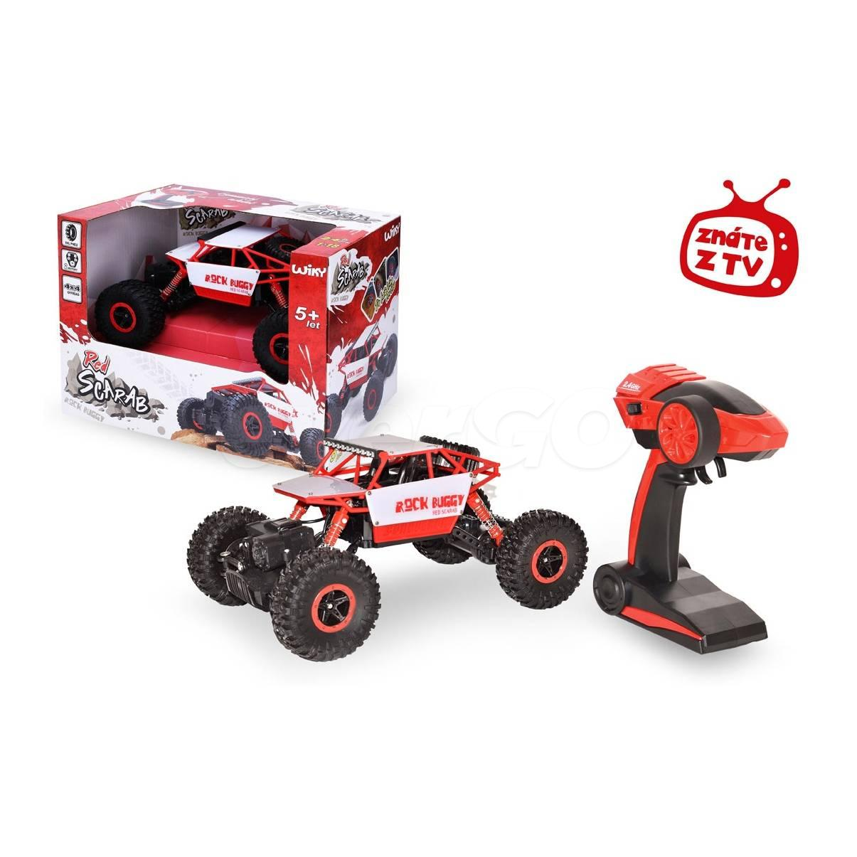 ROCK BUGGY Red Scarab malé