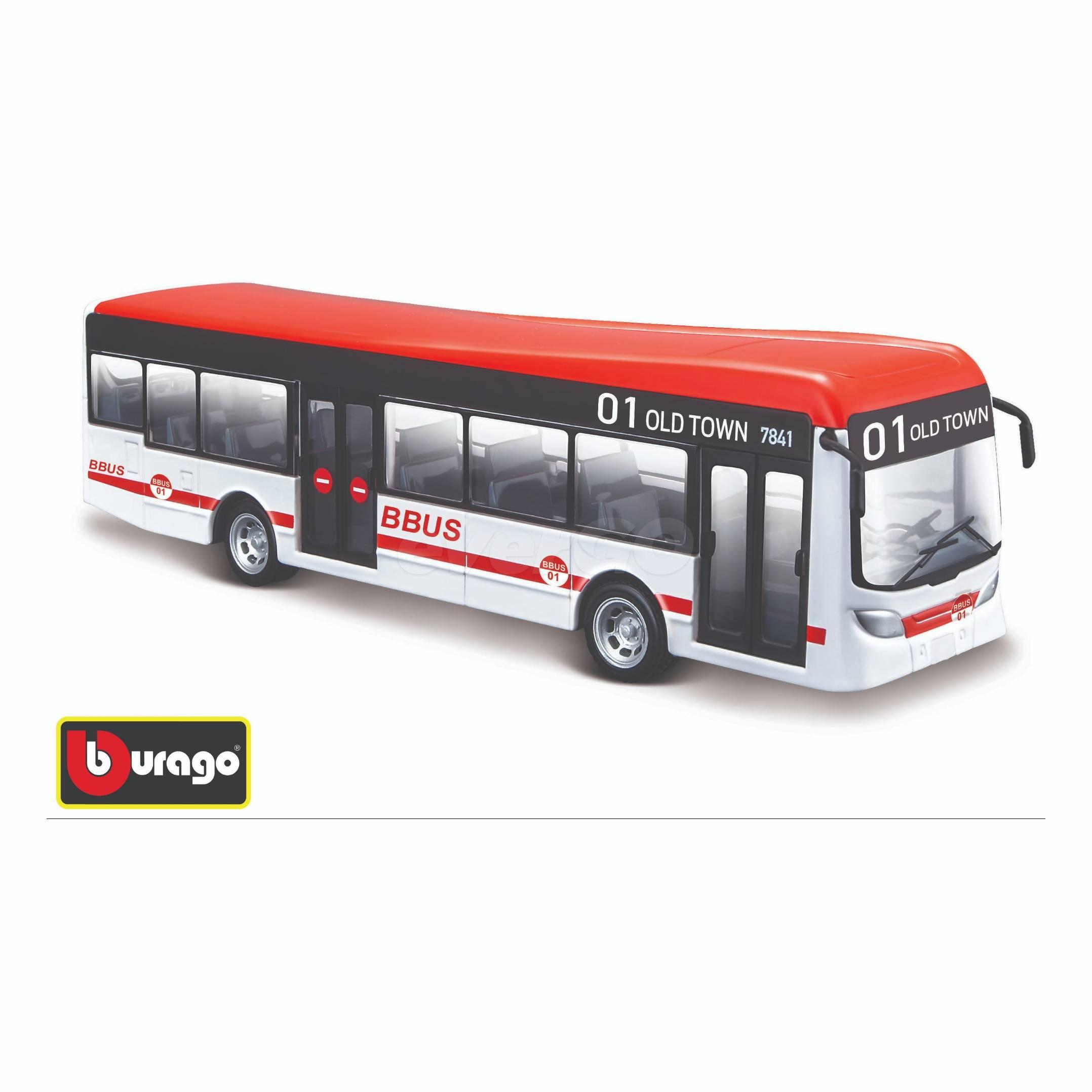 Bburago City Bus 19 cm, 2…